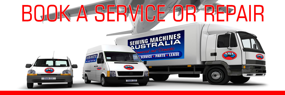Book Service or Repair with Sewing Machines Australia