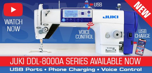 NEW Juki 8000A Industrial Sewing Machine