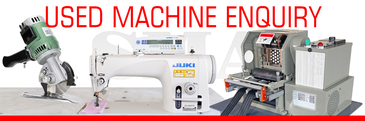 Used Industrial Sewing Machine Enquiry