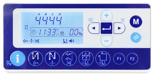 Juki DDL 8000A Control Panel